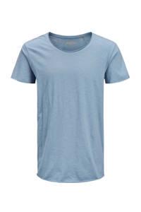 JACK & JONES ESSENTIALS gemêleerd T-shirt blauw, Blauw