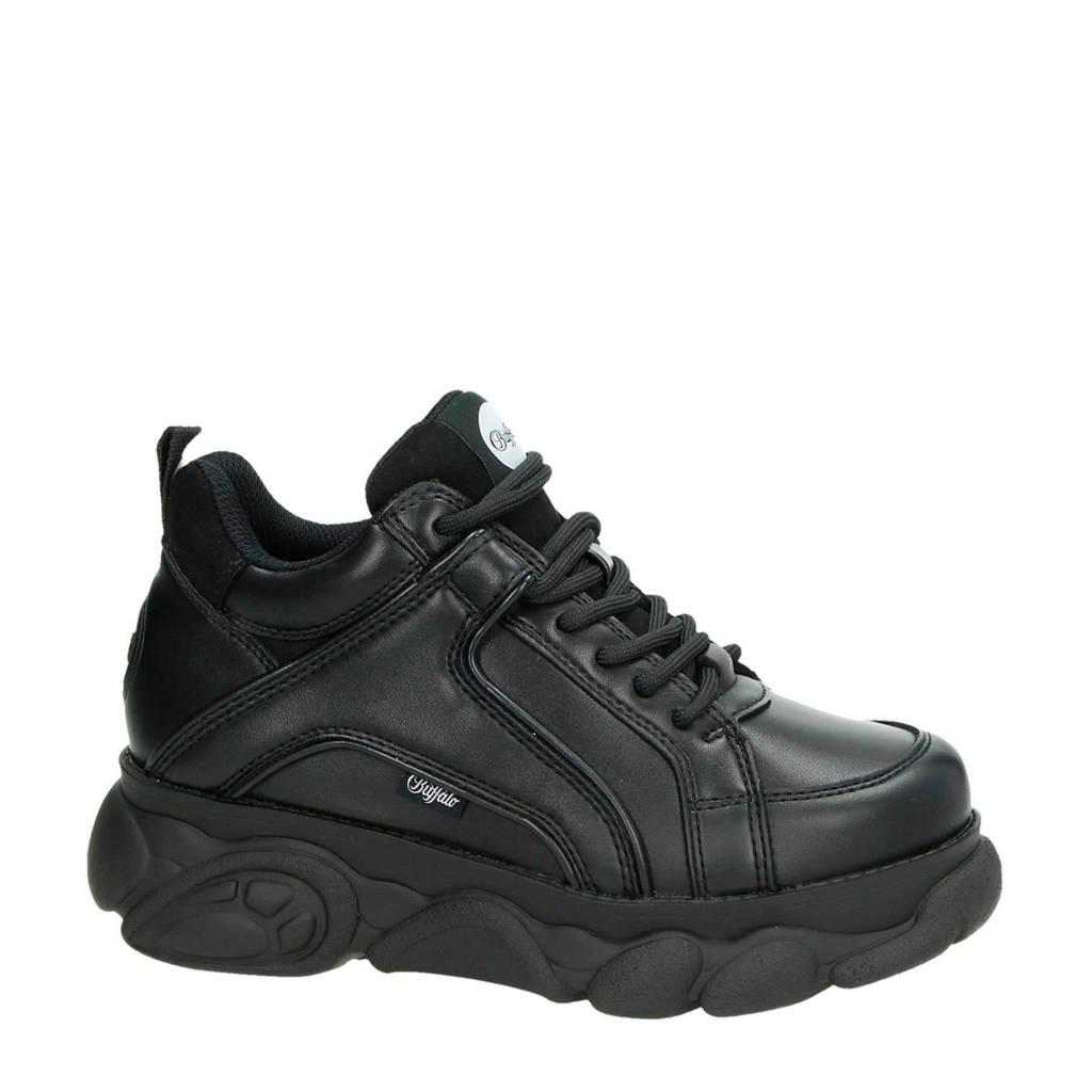Buffalo Corin Vegan  chunky dad sneakers zwart, Zwart