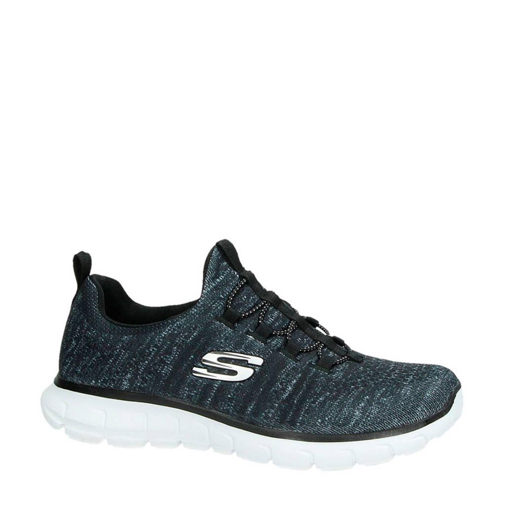 Skechers   sneakers grijs, Grijs/zwart