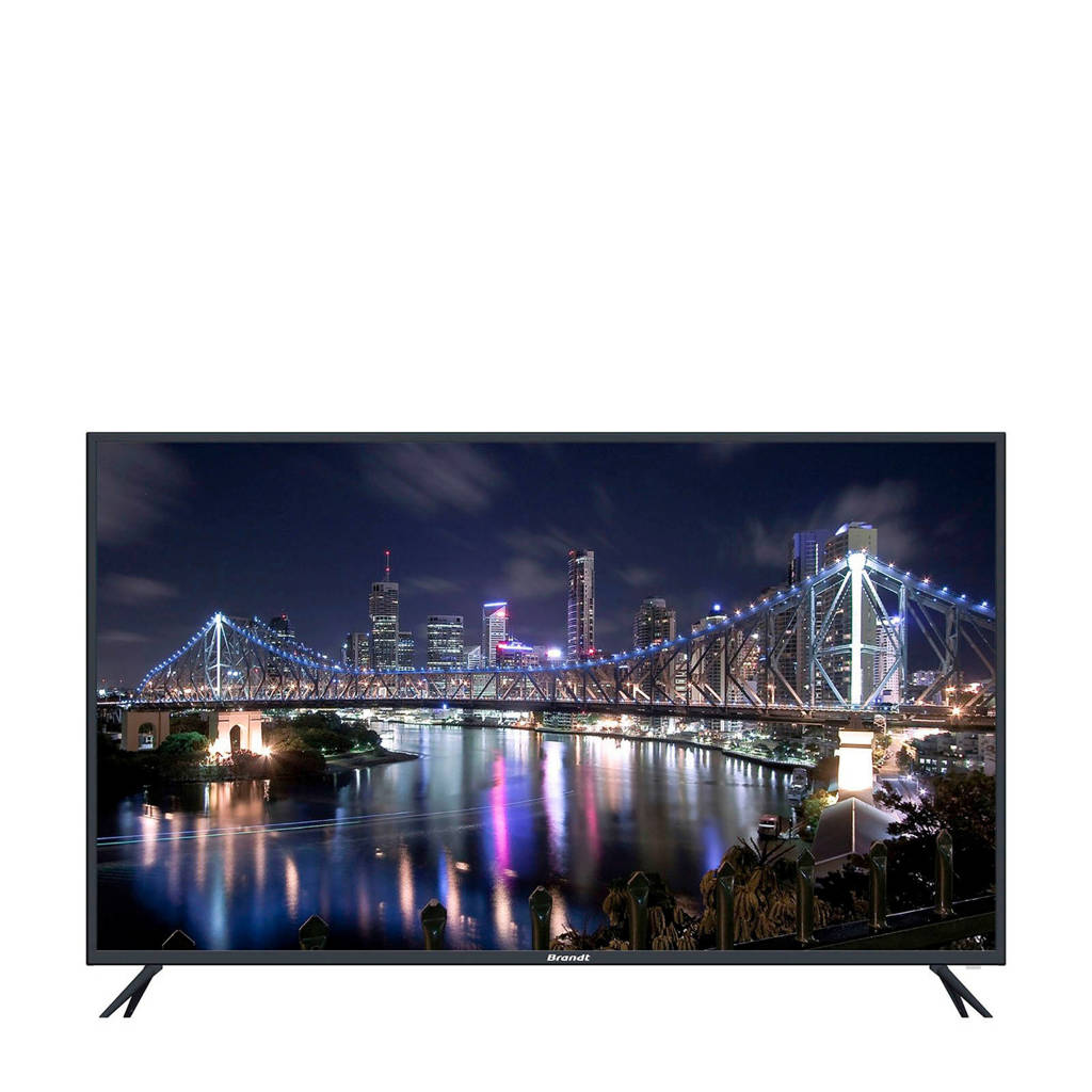 Brandt  B4306UHD 4K Ultra HD  tv, Zwart