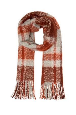 sjaal Janet bruin