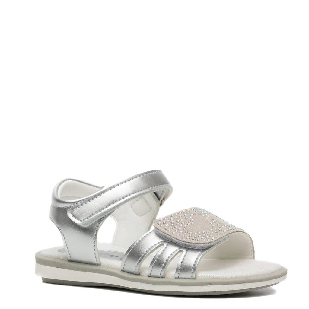 Scapino Blue Box   sandalen zilver, Zilver