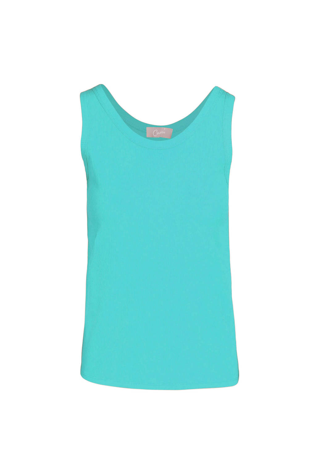 Cassis singlet turquoise, Turquoise