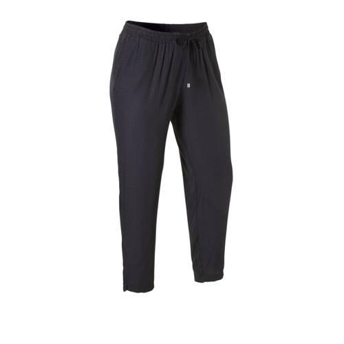 C&A XL Yessica loose fit broek met textuur don