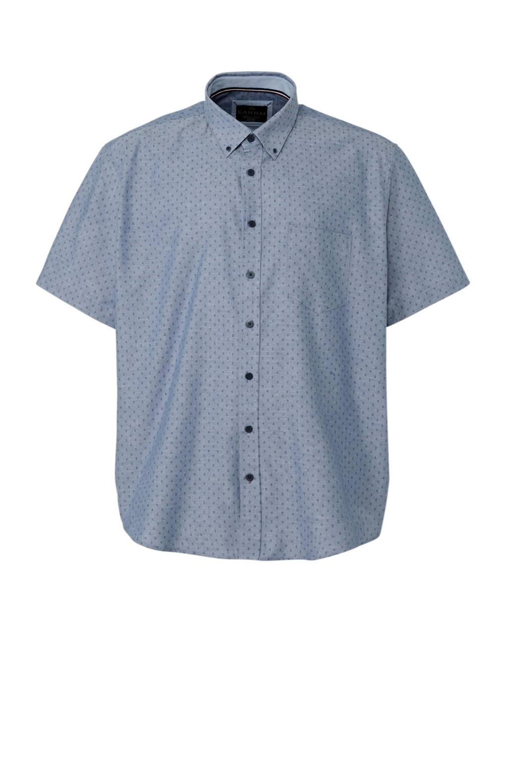 Overhemd Xl.C A Heren Xl Overhemd Met Allover Print Wehkamp