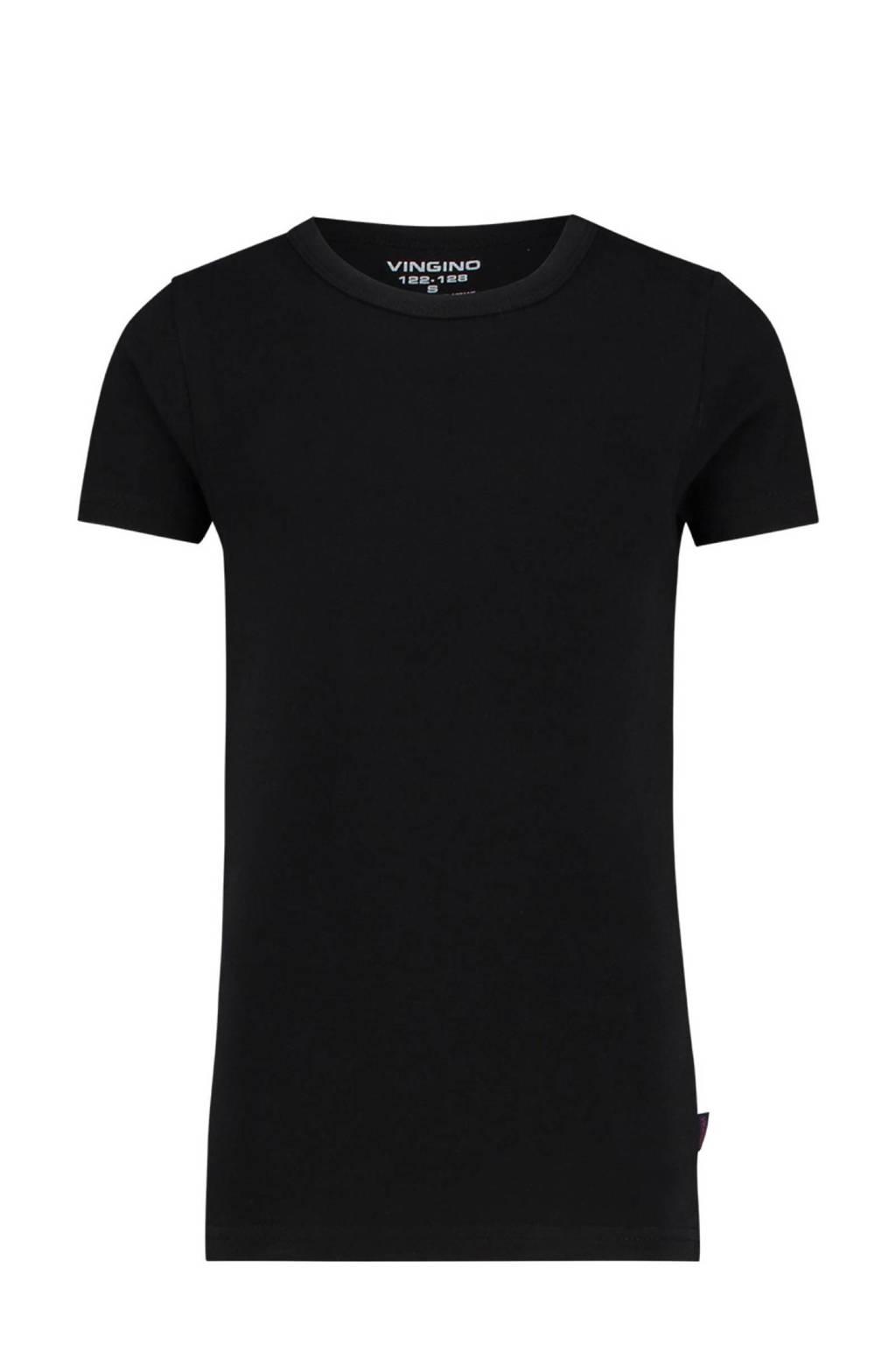 Vingino T-shirt zwart, Zwart
