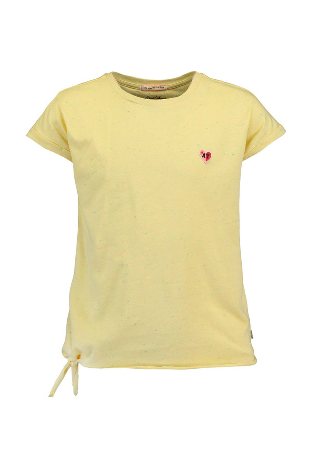 America Today Junior T-shirt Elsa lichtgeel, Lichtgeel