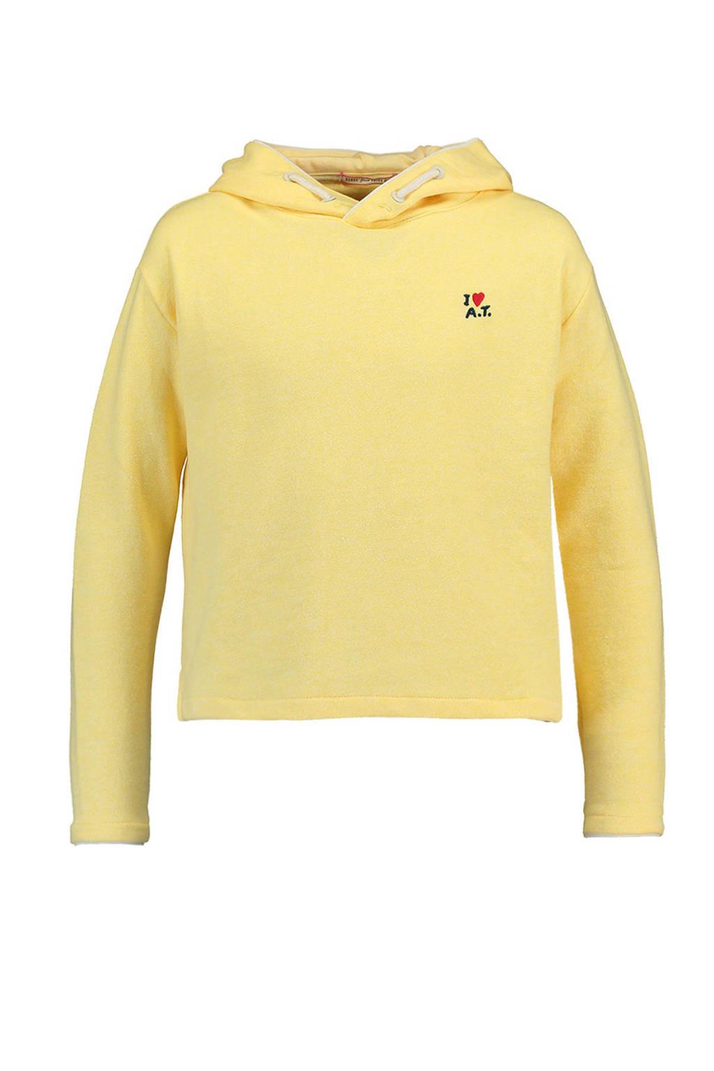 America Today Junior hoodie Summer lichtgeel, Lichtgeel