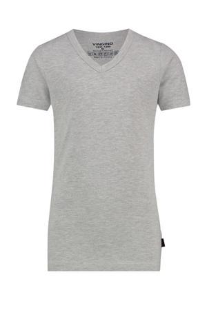 T-shirt grijs melange