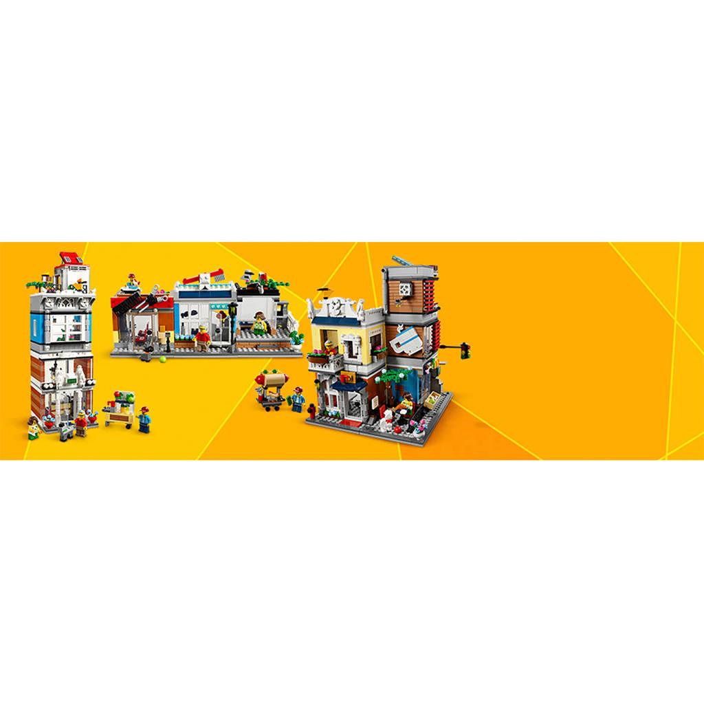 Betere LEGO Creator Woonhuis, dierenwinkel & café 31097 | wehkamp XB-86
