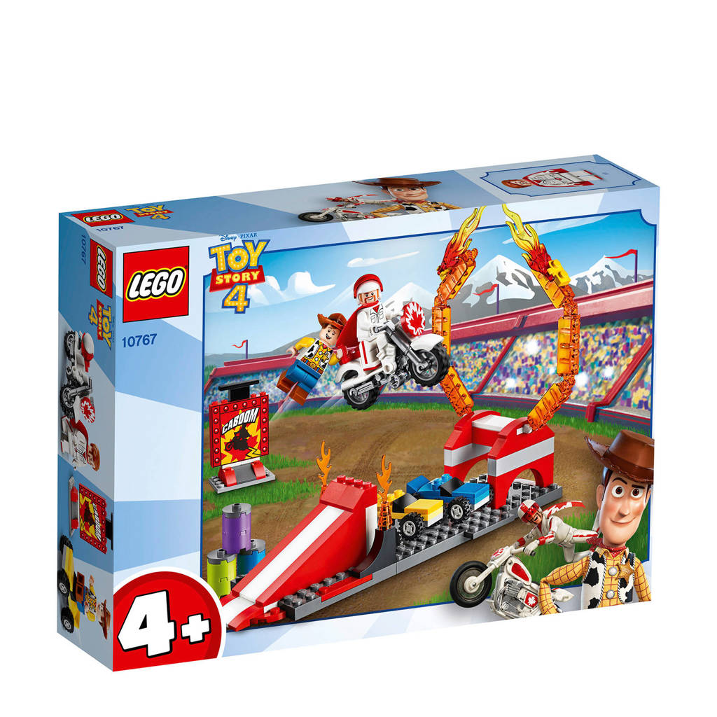 LEGO 4+ Toy Story 4 Graaf Kaboems stuntshow 10767
