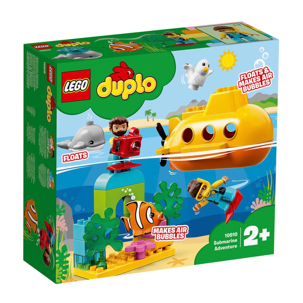 LEGO Duplo Avontuur met onderzeeër 10910