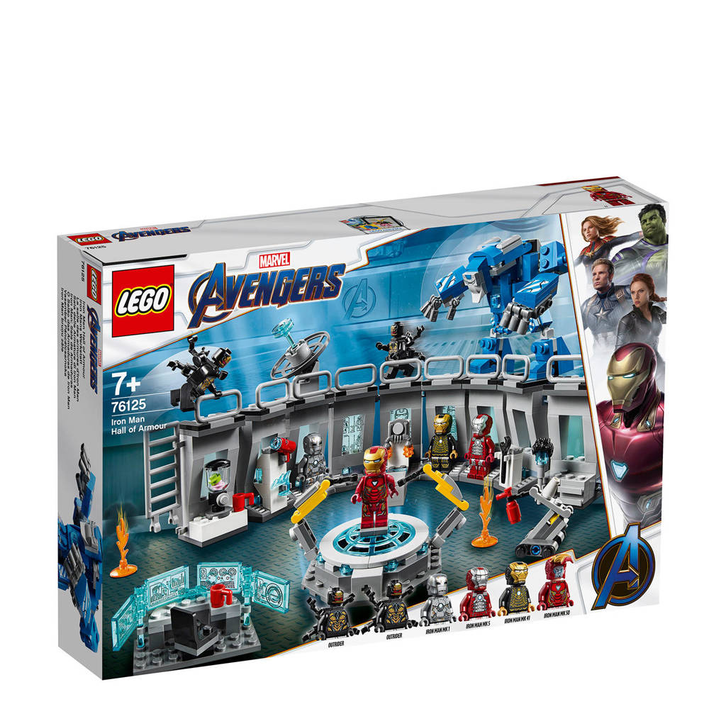 LEGO Super Heroes Iron Man Laberervaring 76125