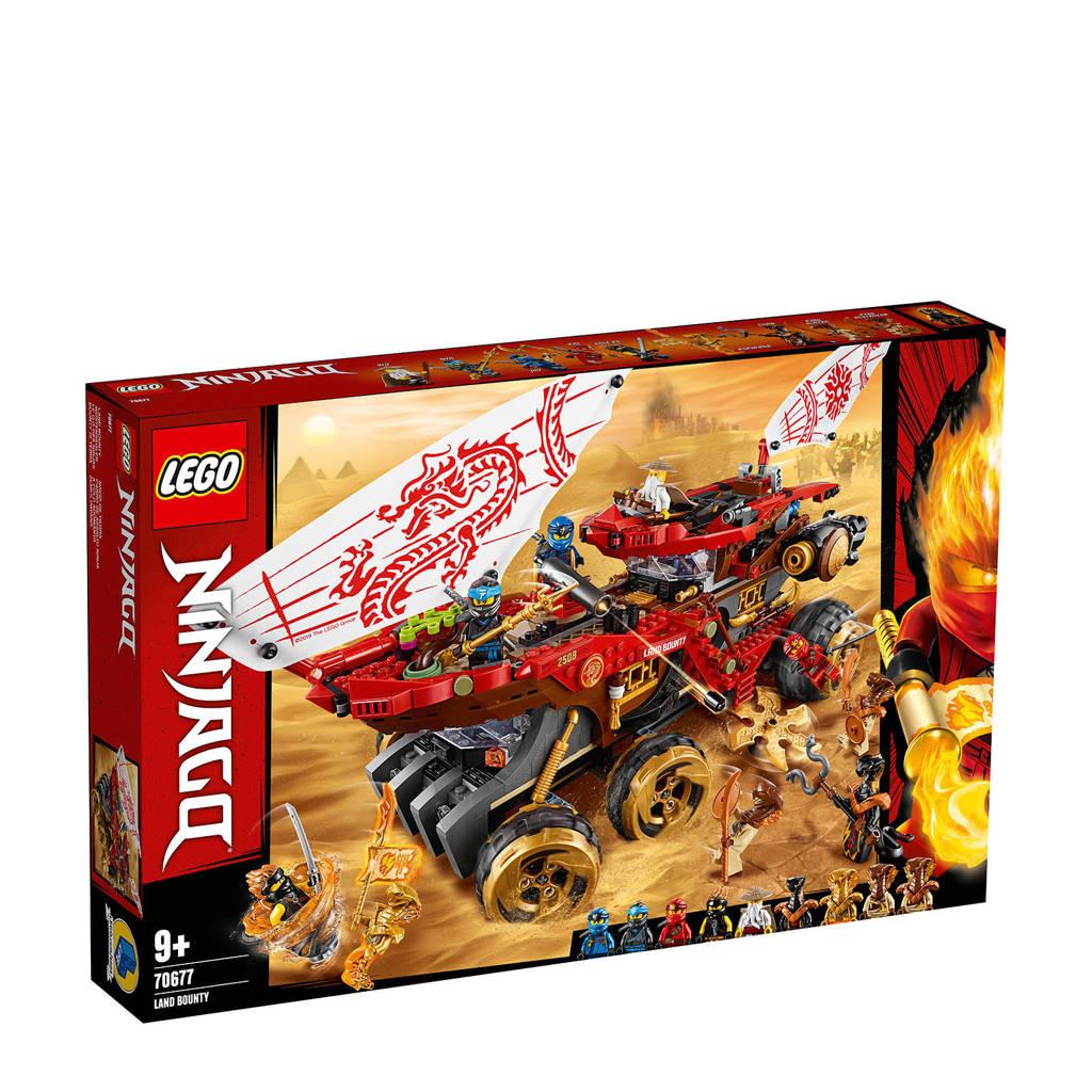LEGO Ninjago Landbounty 70677