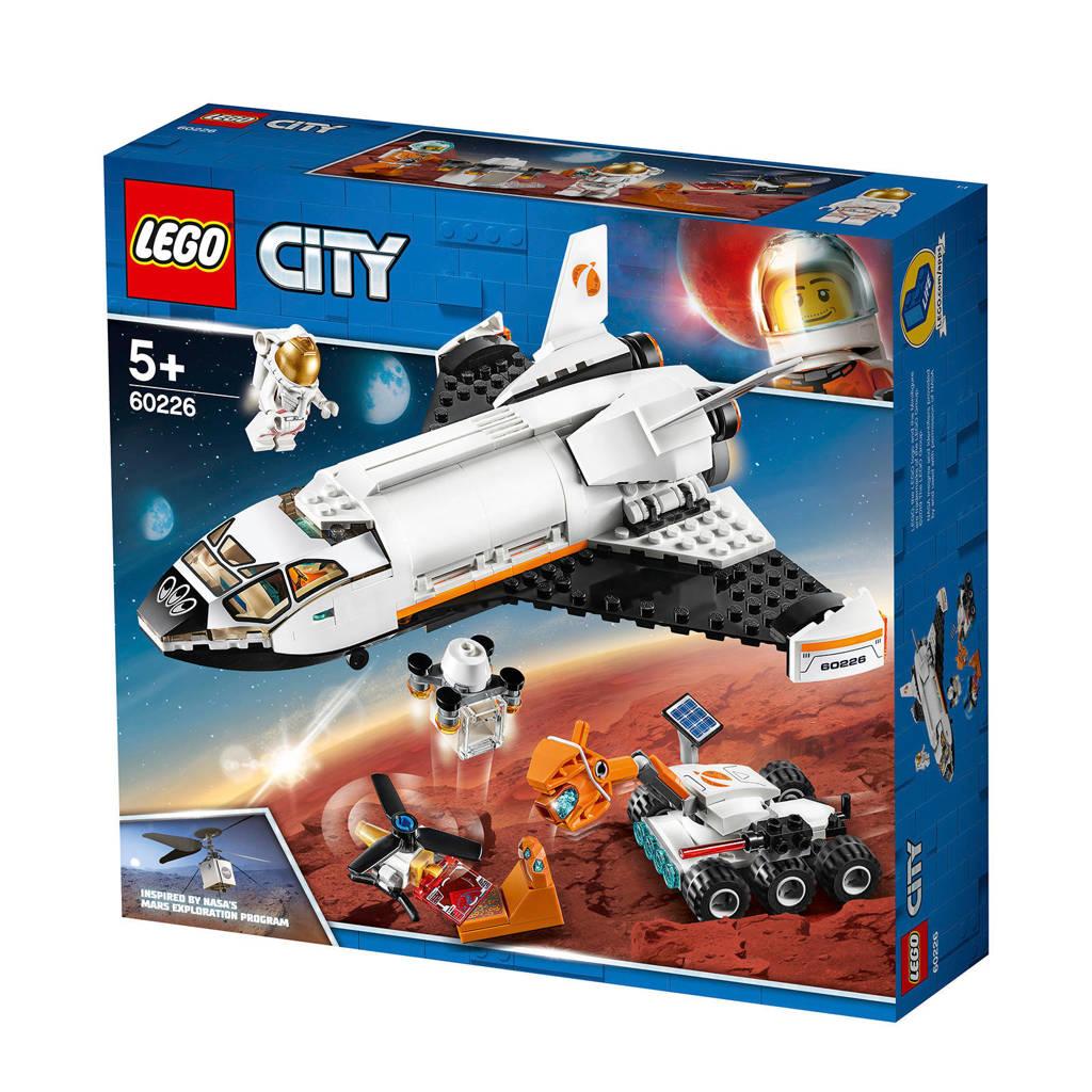 LEGO City Mars onderzoeksshuttle 60226
