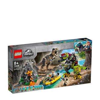 Jurassic World T. Rex vs Dinomecha gevecht 75938