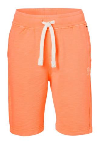 sweatshort neon oranje