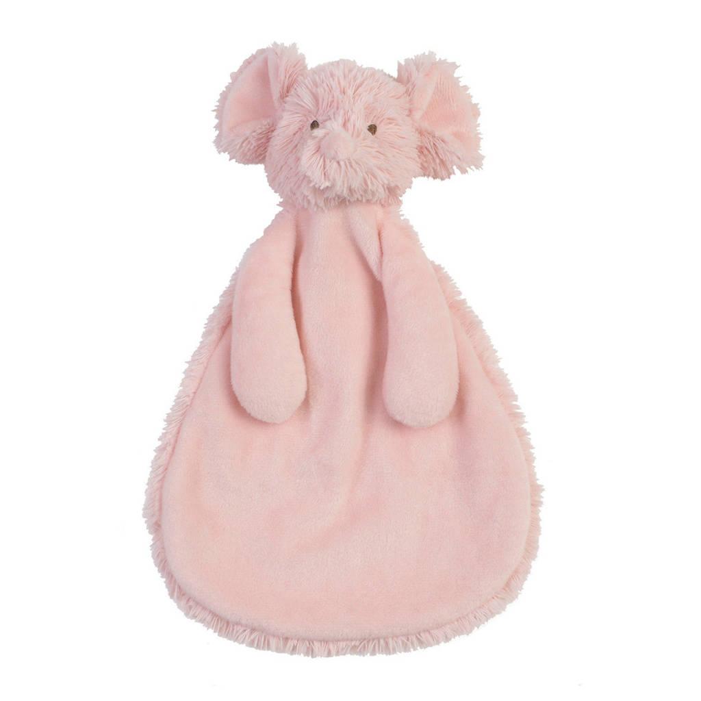 Happy Horse Mouse Marin Tuttle knuffeldoekje, Roze