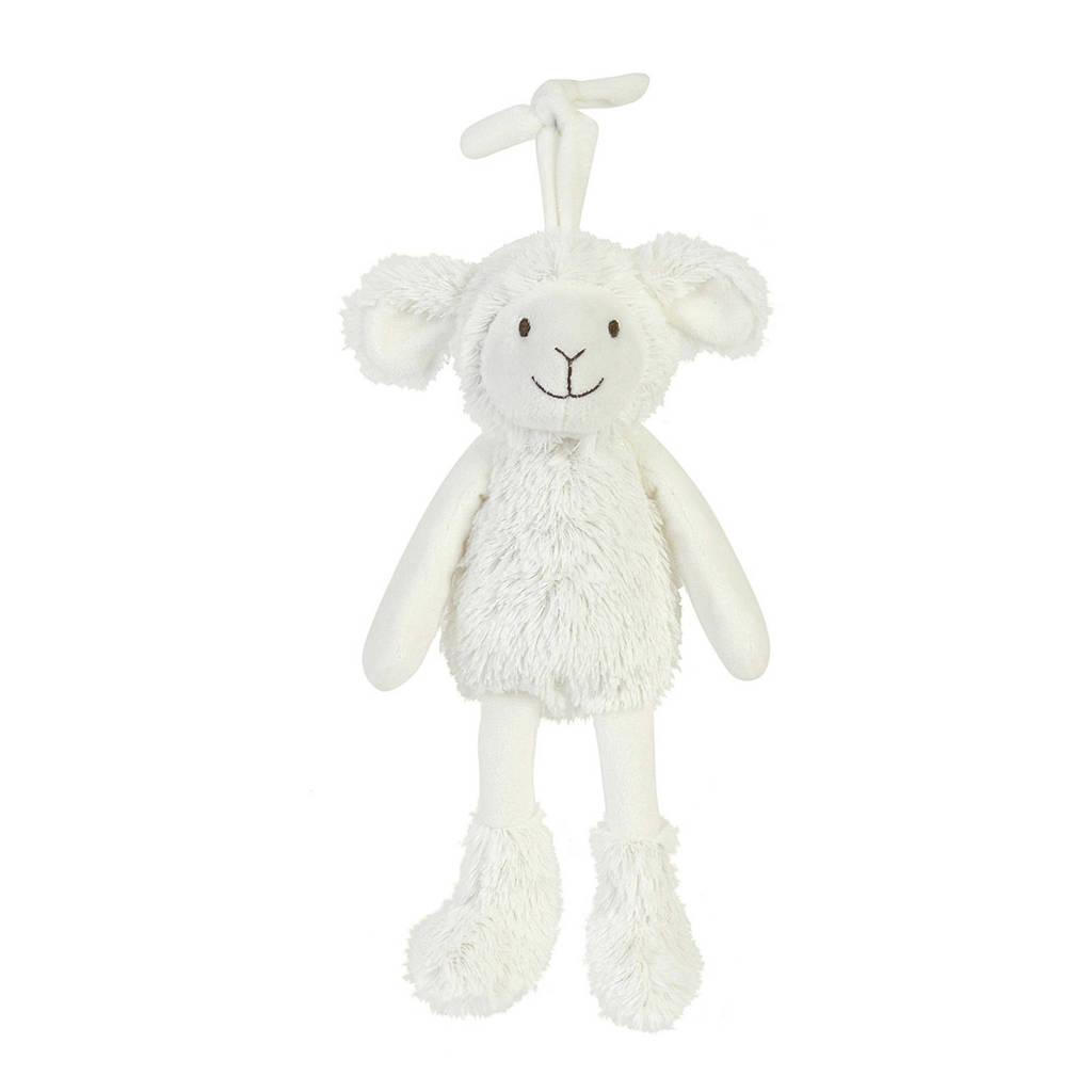 Happy Horse Sheep Skyler Musical knuffel 26 cm, Creme