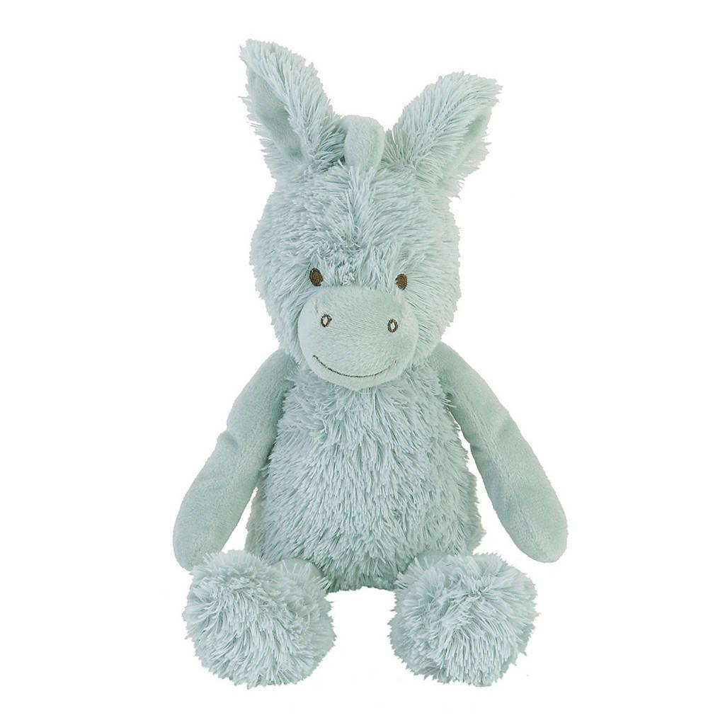 Happy Horse Donkey Devan no. 1 knuffel 26 cm, Groen