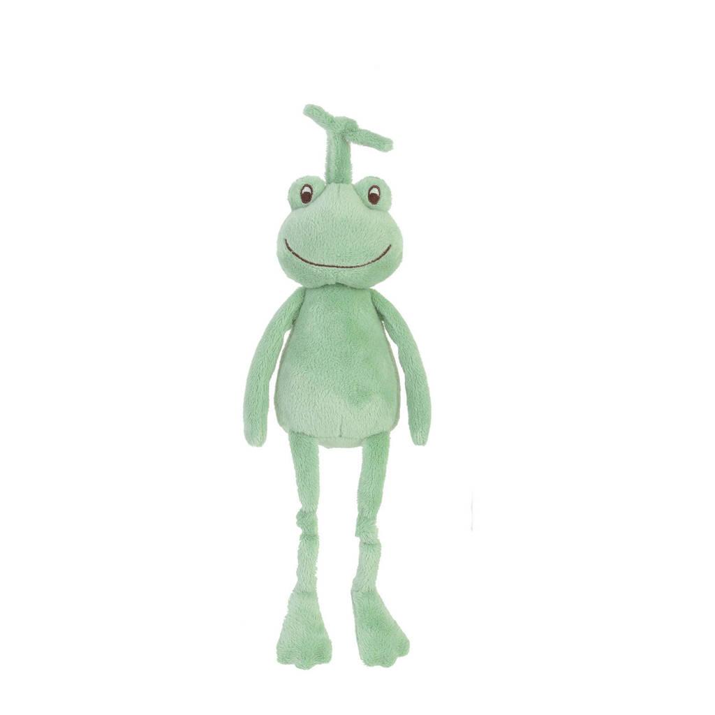 Happy Horse Frog Flavio Musical knuffel 28 cm, Groen