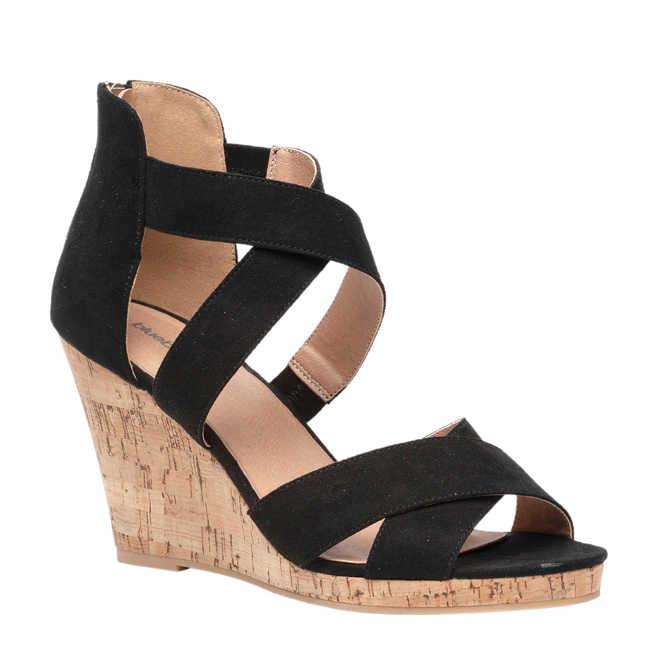0607fb49448 Scapino. Blue Box sandalettes zwart