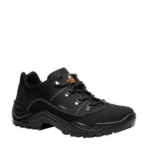 leren wandelschoenen zwart