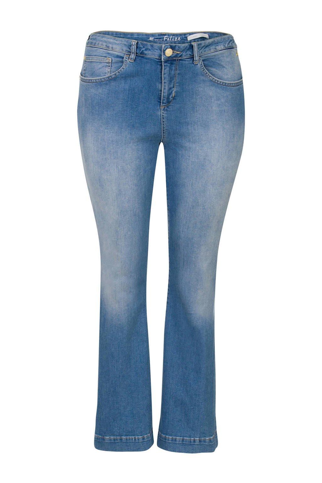Miss Etam Plus jeans, Blauw