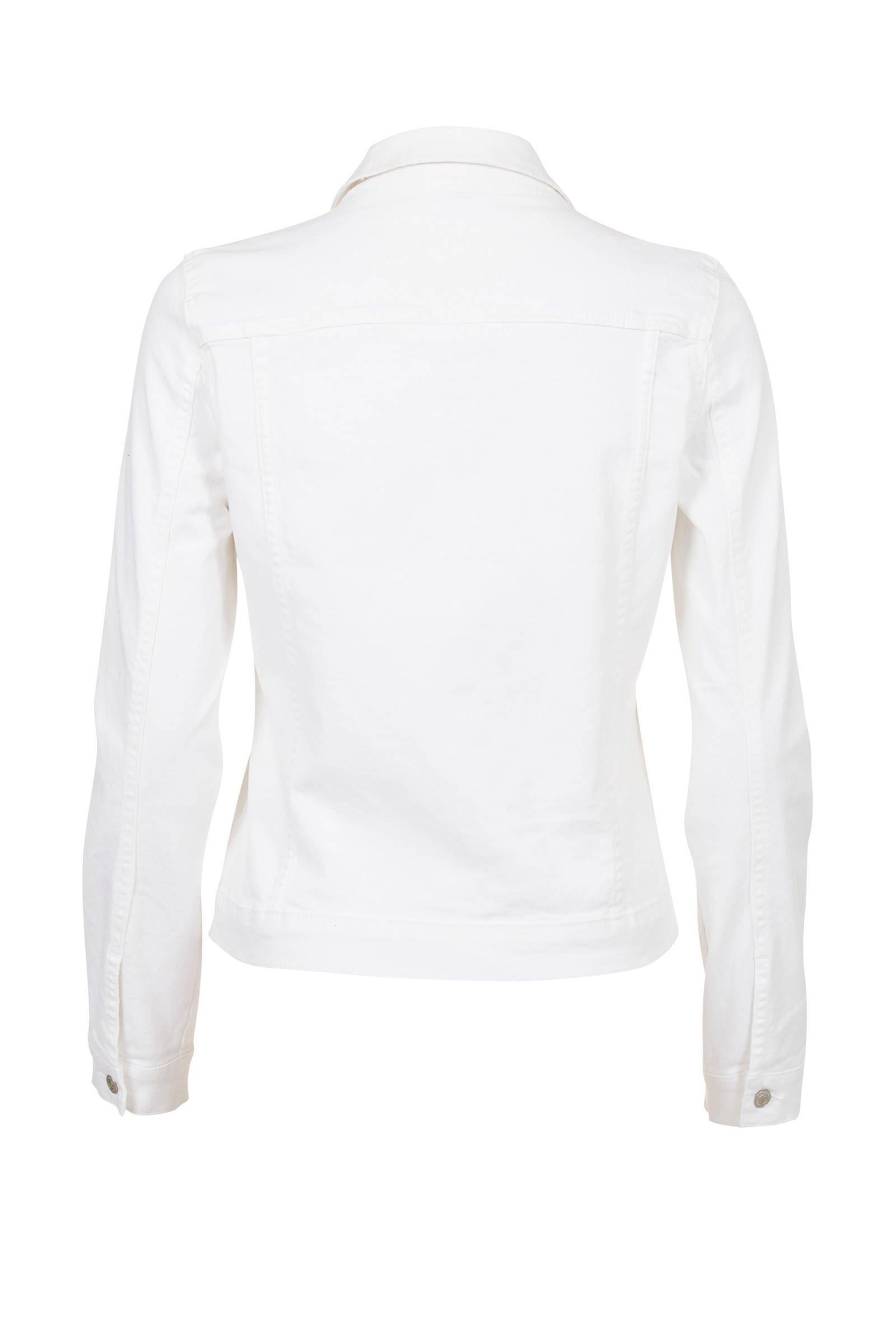 spijkerjasje wit