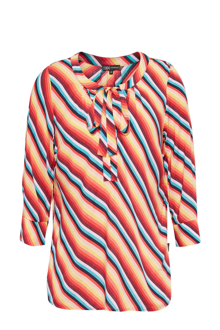 Didi blouse gestreepte strik gestreepte Didi blouse met 8x0RUy