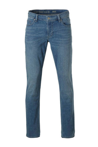 The Denim straight fit stretch jeans