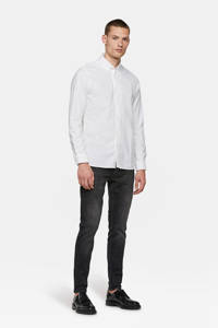 WE Fashion Blue Ridge skinny jeans Dex Sky black denim, Black denim