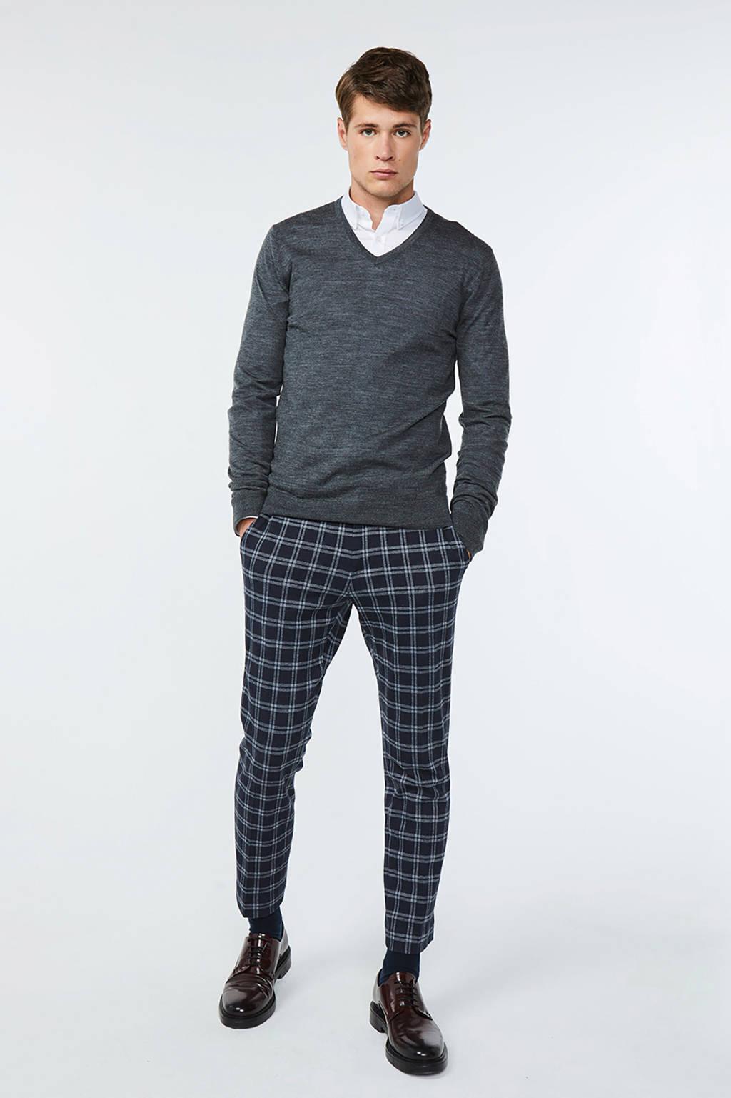 WE Fashion gemêleerde wollen trui grijs, Grijs