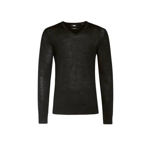 WE Fashion gem??leerde wollen trui zwart