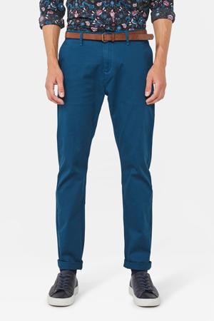 skinny chino blauw