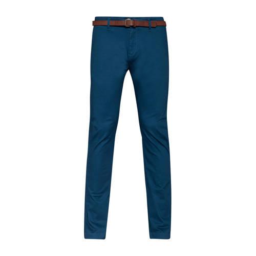 WE Fashion skinny chino blauw
