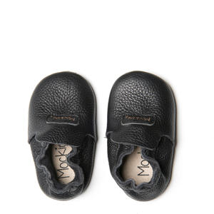 First Steps Blush babyslofjes zwart