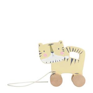 houten tijger trekfiguur