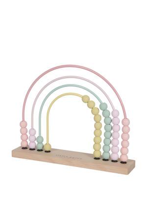 houten telraam regenboog