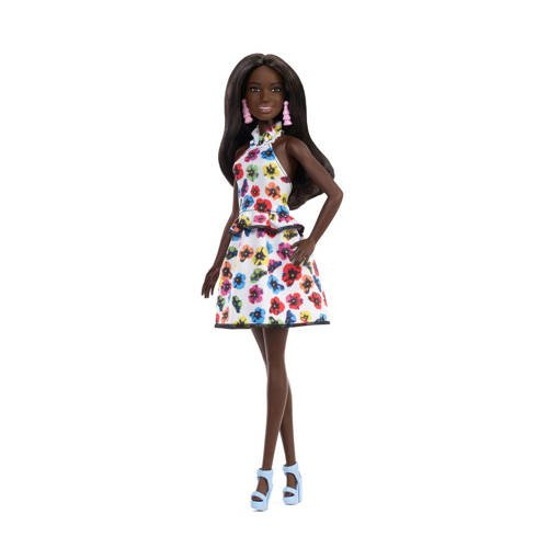 Barbie Fashionistas rainbow floral kopen