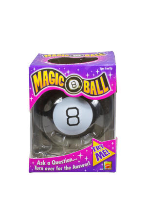 Magic 8 Ball denkspel