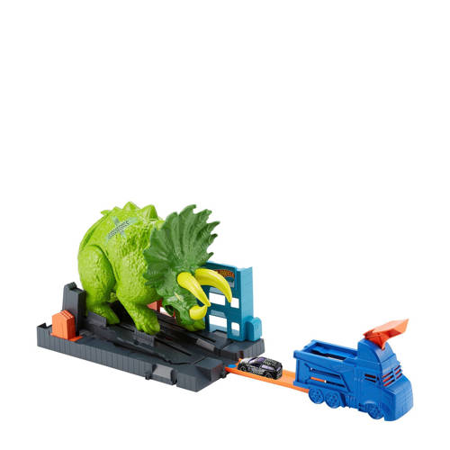 Hot Wheels City Triceratops aanval