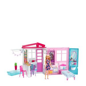 draagbaar huis met pop
