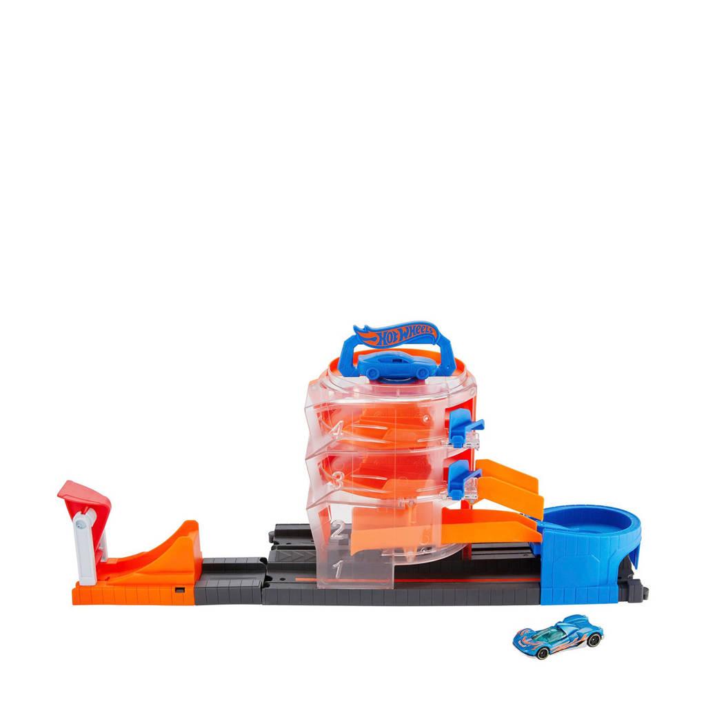 Hot Wheels  City Super Spin Dealer medium speelset