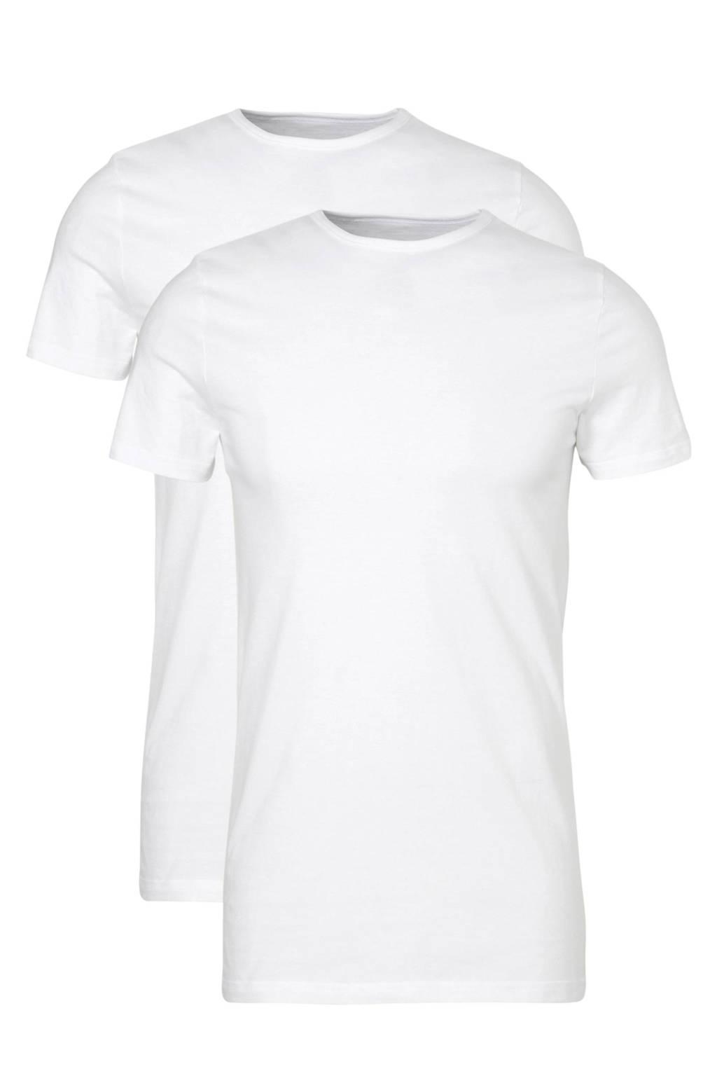 ten Cate T-shirt (set van 2) wit, Wit