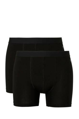boxershort (set van 2) uni zwart