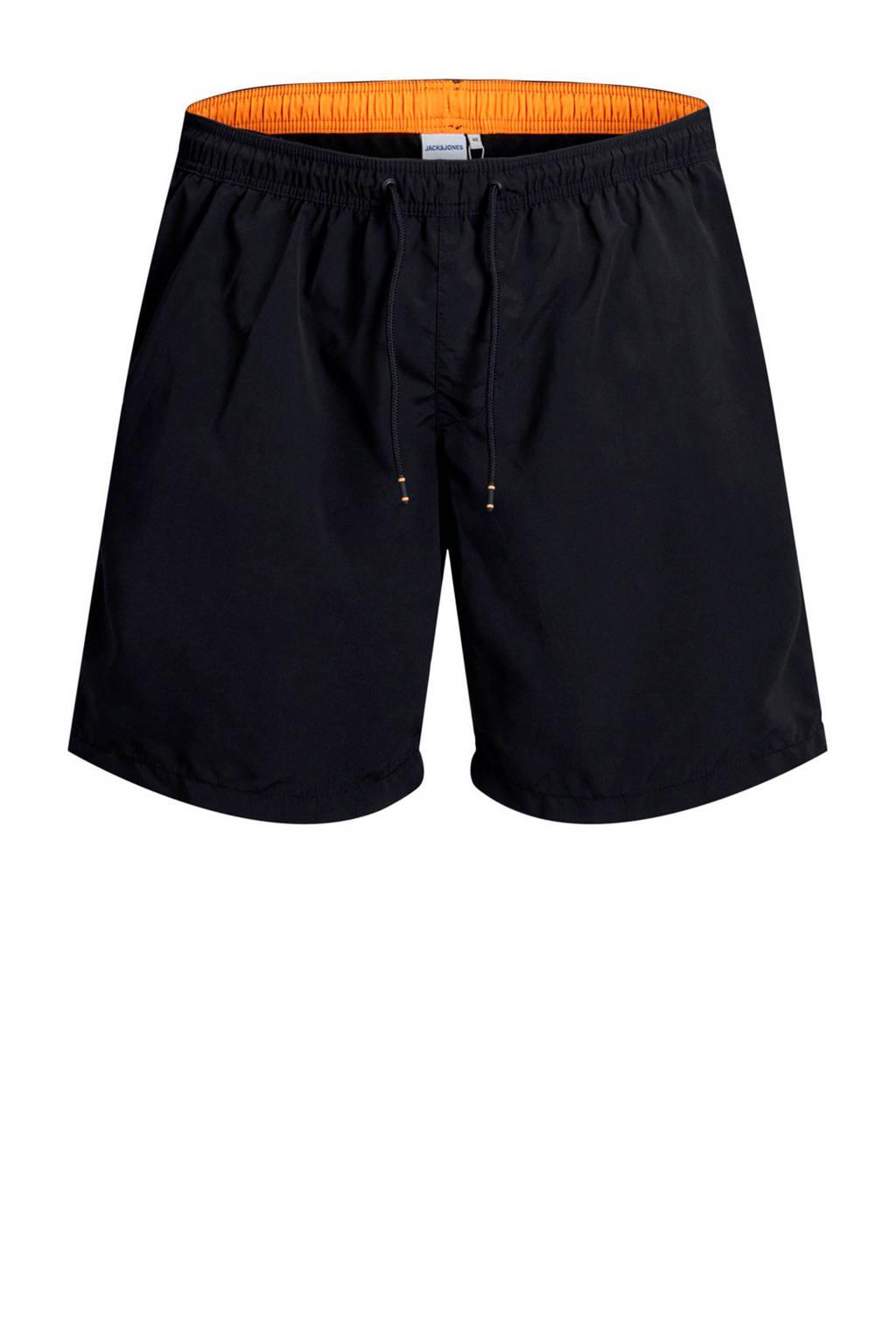 Jack & Jones Plus Size zwemshort zwart, Zwart