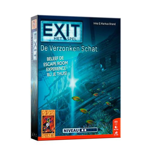 999 Games EXIT - De Verzonken Schat bordspel
