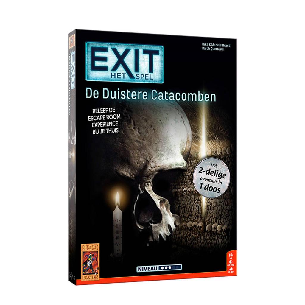 999 Games EXIT - De Duistere Catacomben denkspel denkspel