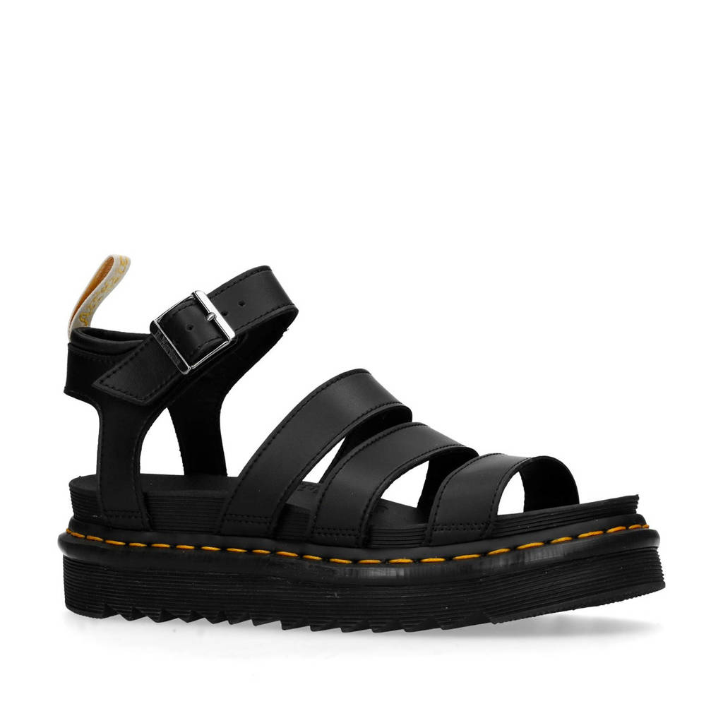 Dr. Martens   Blaire Brando sandalen zwart, Zwart